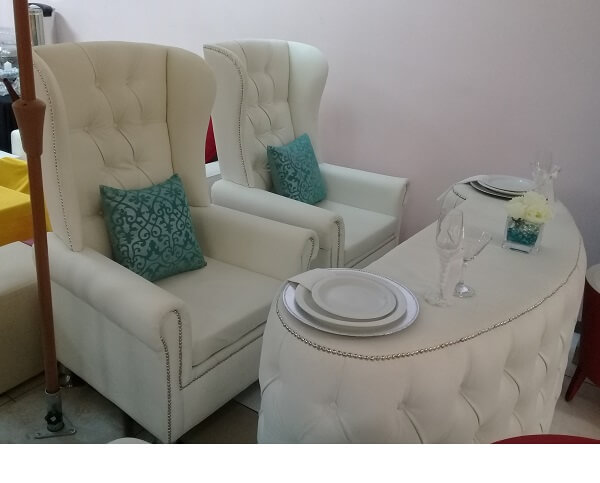 His And Hers Wedding Chairs Set